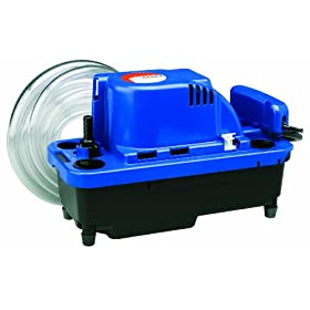 Little Giant VCMX-20ULST VCMX Series Automatic Condensate Removal 1/30 HP Pump with Safety Switch
