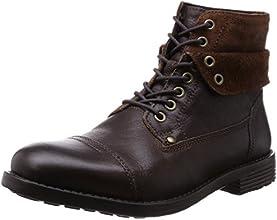 [クラークス] CLARKS フォークナーハイ 26109691 Walnut Warm Lined Leather(ウォルナットウォームラインドレザー/100)