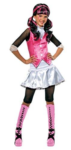 [Girls Mh Draculaura Kids Child Fancy Dress Party Halloween Costume, L (12-14)] (Draculaura Kids Costumes)
