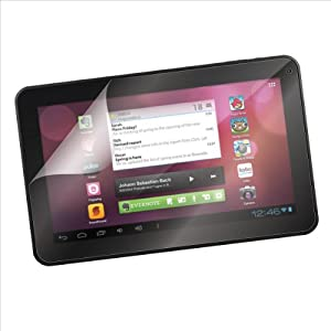 "1-Pack EZGuardZ© Ematic 10"" PRO SERIES TABLET Screen Protectors (Ultra CLEAR) at Electronic-Readers.com"
