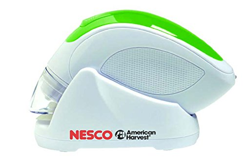 Nesco VS-09HH Hand Held Vacuum Sealer, White/Green