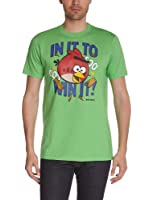 Angry Birds Men's T-shirt manches courtes Printed Round Collar Short sleeve T-Shirt