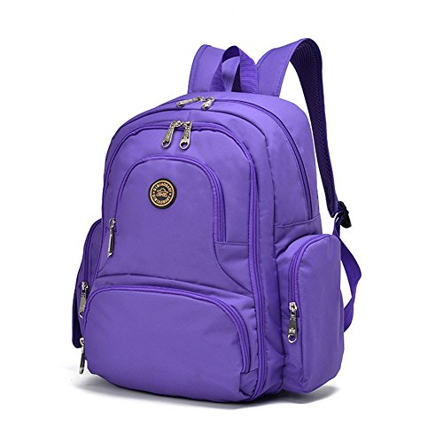 yuhan baby diaper bag travel backpack handbag large capacity fit stroller purple luggage bags bags. Black Bedroom Furniture Sets. Home Design Ideas