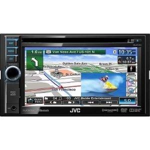 Jvc Kwnt310 6.1-Inch Dvd-Cd-Usb-Sd Navigation Receiver