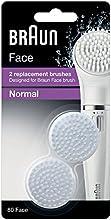 Comprar Braun Face 80 - Paquete de 2 cepillos de repuesto, diseñado para el cepillo de limpieza Braun Face