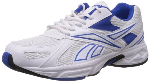 Reebok Men's Acciomax III Lp White and Blue Mesh Running Shoes 10 UK: Buy Online at Low Prices in India Amazon.in