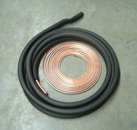 3/8 3/4 35' insulated line set for Central Air Conditioner or Heat Pump