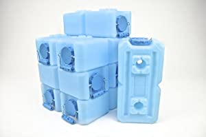 Water Storage Containers - WaterBrick - 8 Pack Blue by WaterBrick