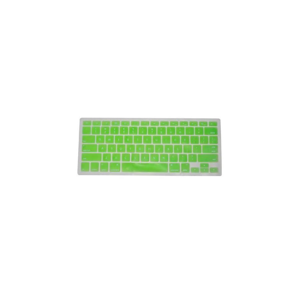 iSkin GREEN Keyboard Silicone Cover Skin for Macbook / Macbook Pro 13 15 17 Aluminum Unibody