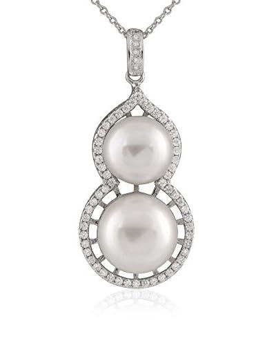 Bella Pearls Conjunto de cadena y colgante plata de ley 925 milésimas