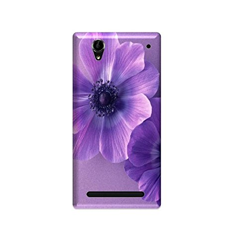 Generic mobile cover AKM01 for SONY XPERIA T2 ULTRA (PURPLE)  available at amazon for Rs.210