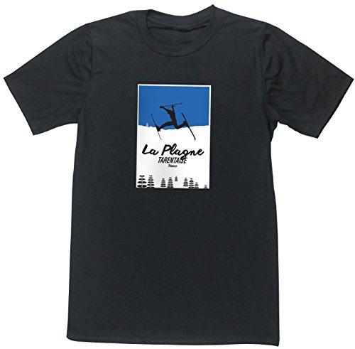 HippoWarehouse -  T-shirt - Uomo nero Large