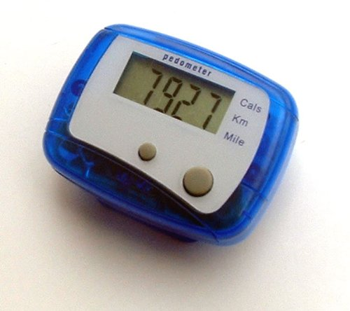 5-Function Pedometer with calorie counter