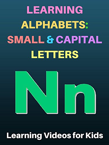 Learning Alphabets: Small and Capital Letters