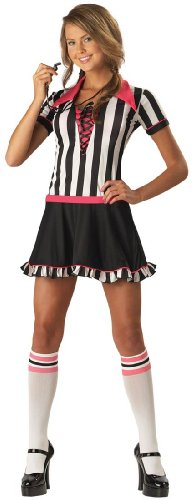 Racy Referee Teen Girls Costume