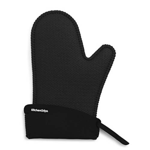 Kitchen Grips Chef's Mitt, Small, Black/Black (Small Kitchen Ovens compare prices)