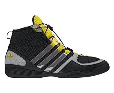 adidas Boxfit 3 Adult Boxing Boot, Black, US5.5
