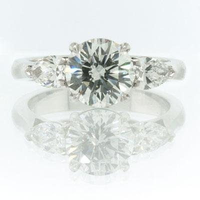 2.27ct Round Brilliant Cut Diamond Engagement