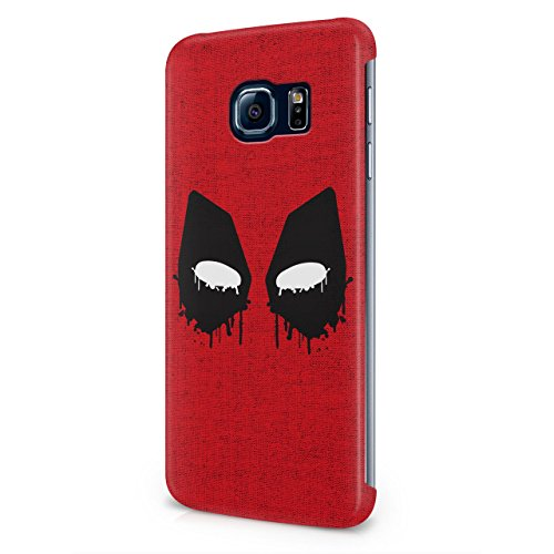 Deadpool Mask Hard Snap-On Protective Case Cover For Samsung Galaxy S6 Edge Plus