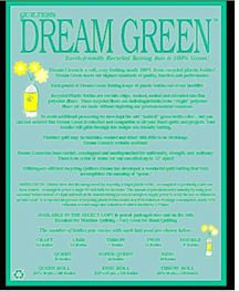 Quilting: Quilter's Dream Green Batting Double Size