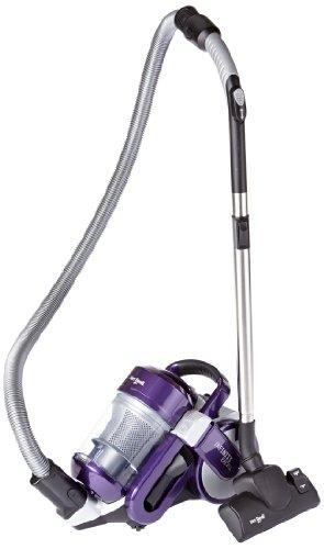 Dirt Devil M5050-7 Multizyklon-Bodenstaubsauger Infinity Excell, 1600 Watt, silber-lila