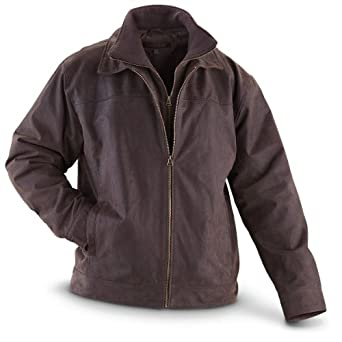 Guide Gear Distressed Car Coat Brown by Guide Gear