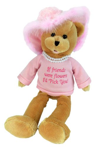 Chantilly Lane Pearl's Wisdom 19 T-Shirt Sings That's What Friends are for (Pink)