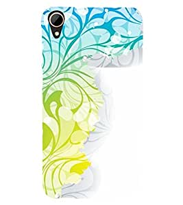 printtech Abstract Design Back Case Cover for HTC Desire 828 dual sim