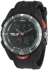 Timex Ironman T5K399 SU - Reloj de caballero de cuarzo, correa de resina color negro
