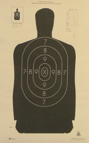 (50x) B-29 Shooting Target Official NRA Police