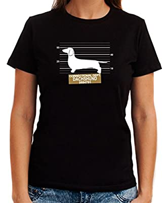 CORRECTIONAL DEPT Dachshund Women T-Shirt