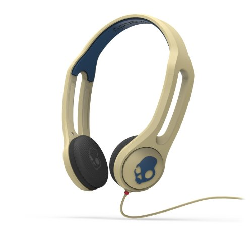 Skullcandy Icon 3 Headphones w/Mic (Khaki)
