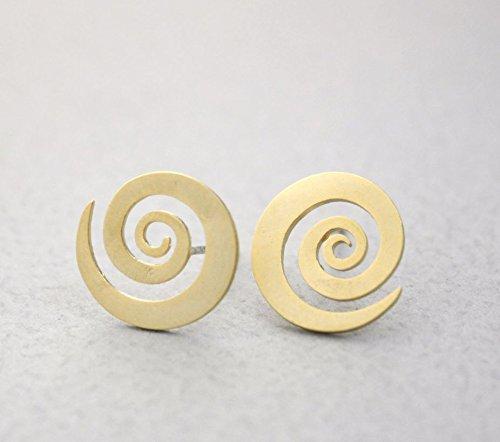 cute-whirlpool-swirl-spiral-stud-earrings-in-gold-silver