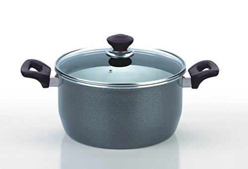 funkybuysr-26cm-hard-anodized-non-stick-heavy-gauge-ovenproof-casserole-stock-stew-soup-pot-pan
