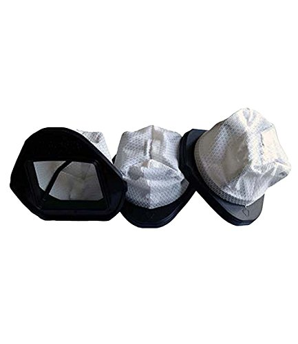 Crucial Vacuum 3-Piece Dust Cup Filters for Shark Hand Vac Models (Shark Vacuum Sv780 compare prices)