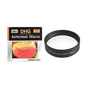 MARUMI DHG200ACH62 Filtre Noir, Transparent