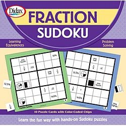 Cheap Didax Educational Resources Fraction Sudoku (B001644Q86)