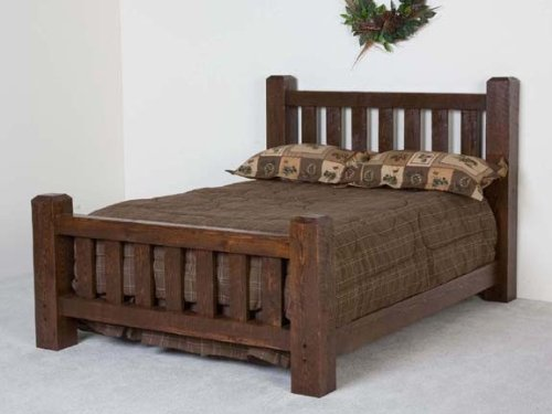 Viking Log Furniture Lumberjack Bed