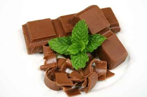 """Chocolate with Mint - 36""""W x 24""""H - Peel and Stick Wall Decal by Wallmonkeys"""