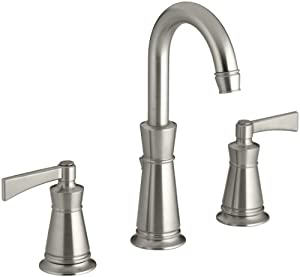 Kohler K 11076 4 Bn Archer Lavatory Faucet With 8 Inch Centers Vibrant Brushed Nickel Touch