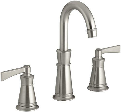 Kohler k 11076 4 bn archer lavatory faucet with 8 inch - 8 inch brushed nickel bathroom faucet ...