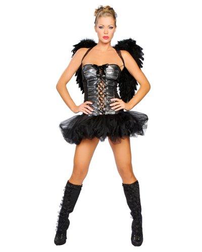 Womens Naughty Dark Angel Sexy Costume