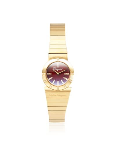 Ferragamo Women's F70SBQ5108i S080 Gancino Gold/Red Watch