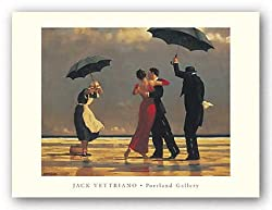 "The Singing Butler by Jack Vettriano 15.75""x12.25"" Art Print Poster"