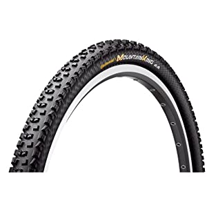 Continental Mountain King II Fold ProTection Bike Tire, Black, 29-Inch x 2.2 from Continental