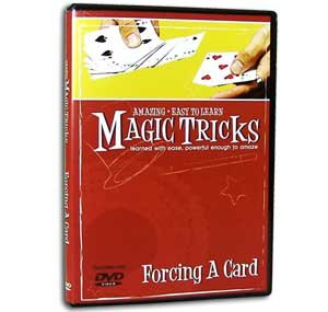 Amazing Easy to Learn Magic Tricks DVD: Forcing a Card