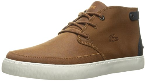 Lacoste Men's Clavel M 316 1 Cam Boot, Tan, 10 M US