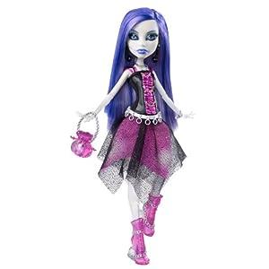 Monster High Spectra Vondergeist Doll With Pet Ferret And Rhuen