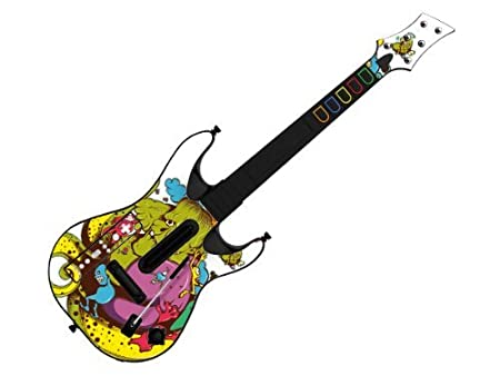 Decorative Skin fits Guitar Hero 5 for Wii (GUITAR NOT INCLUDED), Item No.GTW0996-29