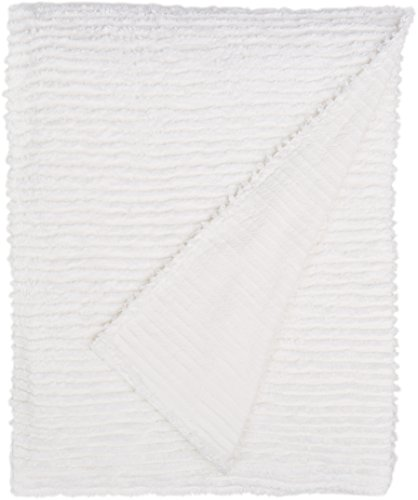 Find Discount Beatrice Home Fashions Channel Chenille Bedspread, Queen, White